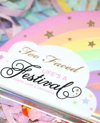La palette «Life's a Festival» de Too Faced !
