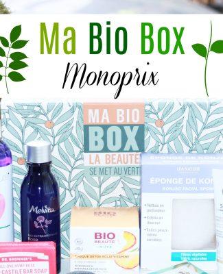 La Bio Box Beauté de Monoprix !