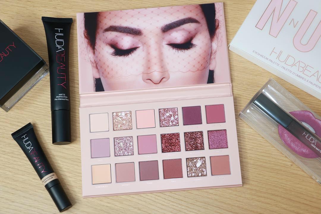 "Revue: la palette ""New Nude"" d'Huda Beauty !"
