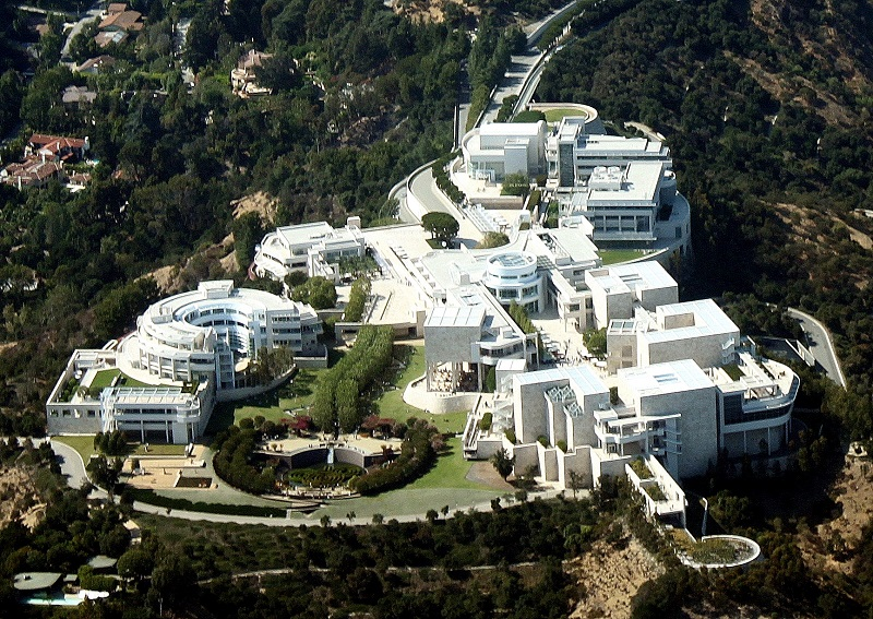American Acropolis: The Getty Center in Los Angeles.