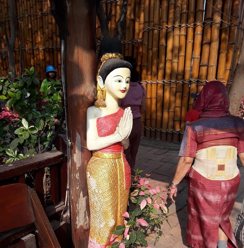 Thailand's Floating Market at Ayutthaya.