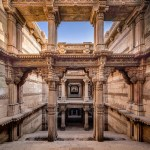 An act of fetching water has become a celebration of delightful architectural experience at the stepped well of Adalaj in India.