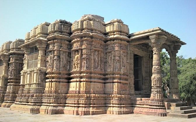 The Sun temple at Modhera
