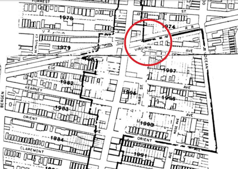 MLK Drive Station on Map