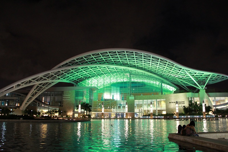 A solar oasis amid widespread electric grid failure: Puerto Rico Convention Center