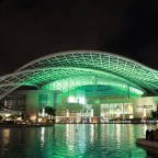 An oasis amid electric grid failure: Puerto Rico Convention Center