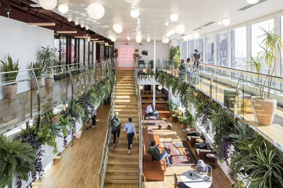 wework coworking space creatives freelancers