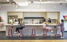 Co-working space Good Vibes, Innovations and Supportive Systems