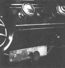 Unos cables debajo del tablero de instrumentos son los que inavtivan dos o cuatro colindros de un motor V8 de 350 pulgadas cúbicas (5,735 cm3)