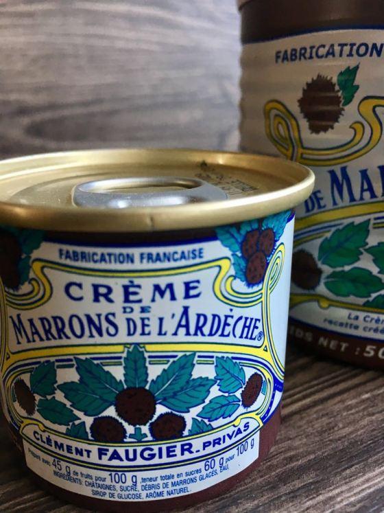 Bizcocho de crema de castañaswww.mimejorhornada.com