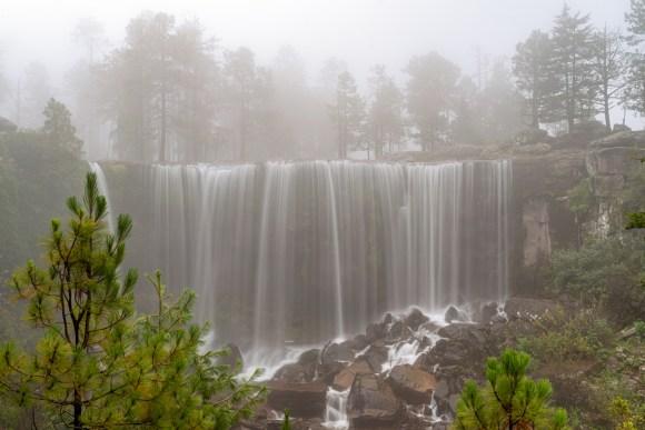 Cascadas en el Parque Natural Mexiquillo