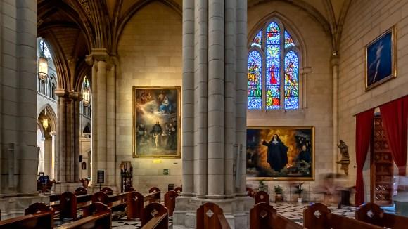 Retablos en la Catedral de Santa María La Real