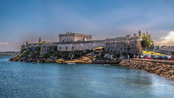 Castelo de San Anton en La Coruña
