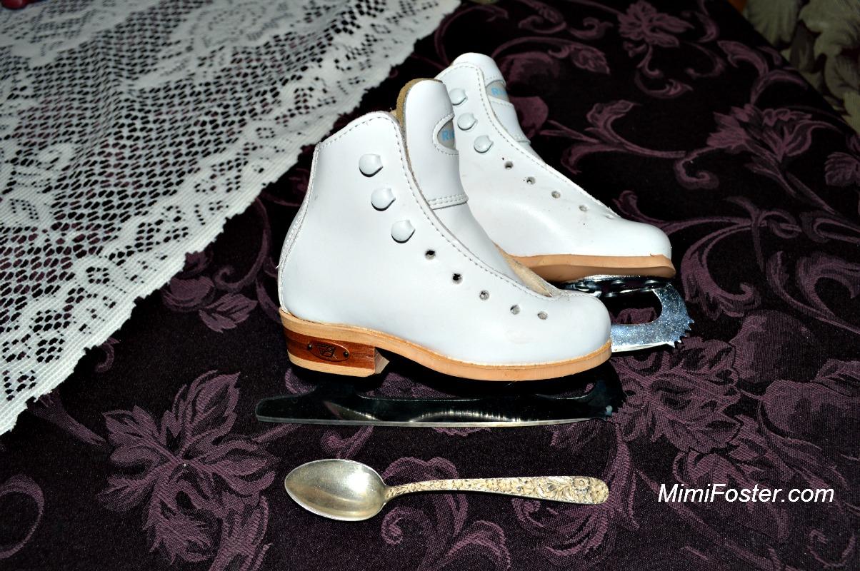 Tiny ice skates