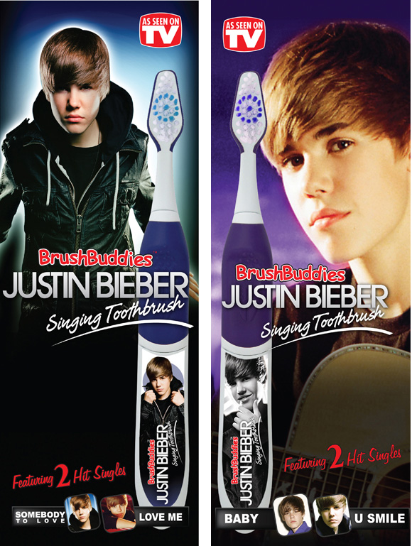Image result for justin bieber musical toothbrush