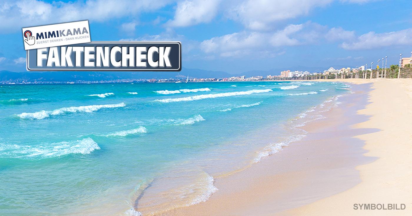 mallorca strandbild uberfullter strand