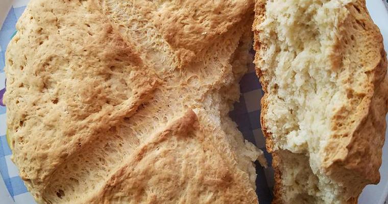 Albanian Soda Bread (Albanian Kulac)