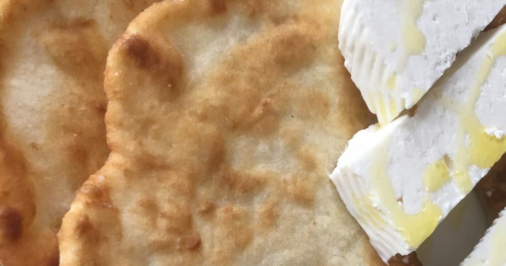 Albanian Flatbread (Pite në Tigan)