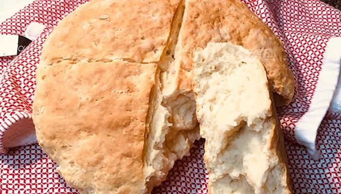 Albanian Soda Bread Featured