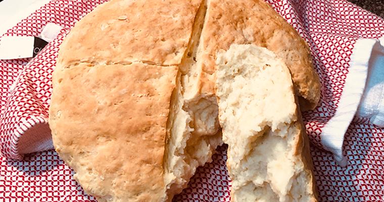 Albanian Soda Bread For Stuffing (Kulaç Për Përshesh)