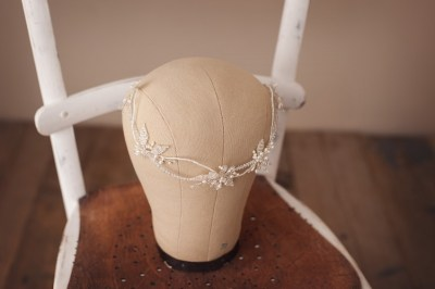 wedding headpiece hair vine