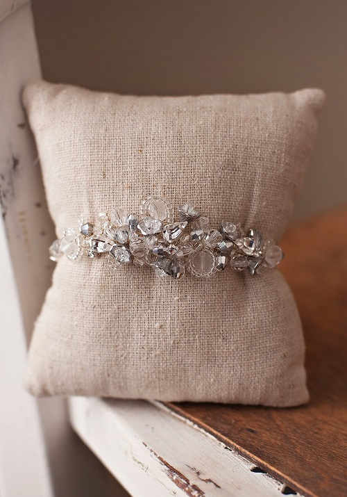 Estella Bridal Cuff Bracelet 2 - Copy