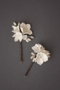 Mimi Blossom Hair Pins