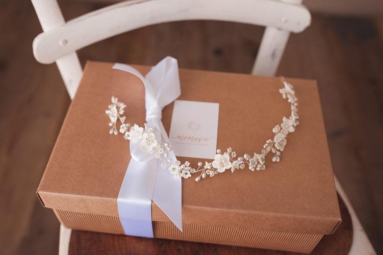 wedding flower halo hair vineheadpiece