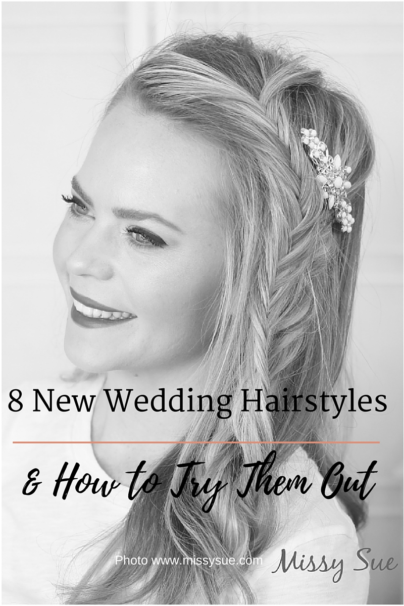 8 New Weddinh Hair Styles to try
