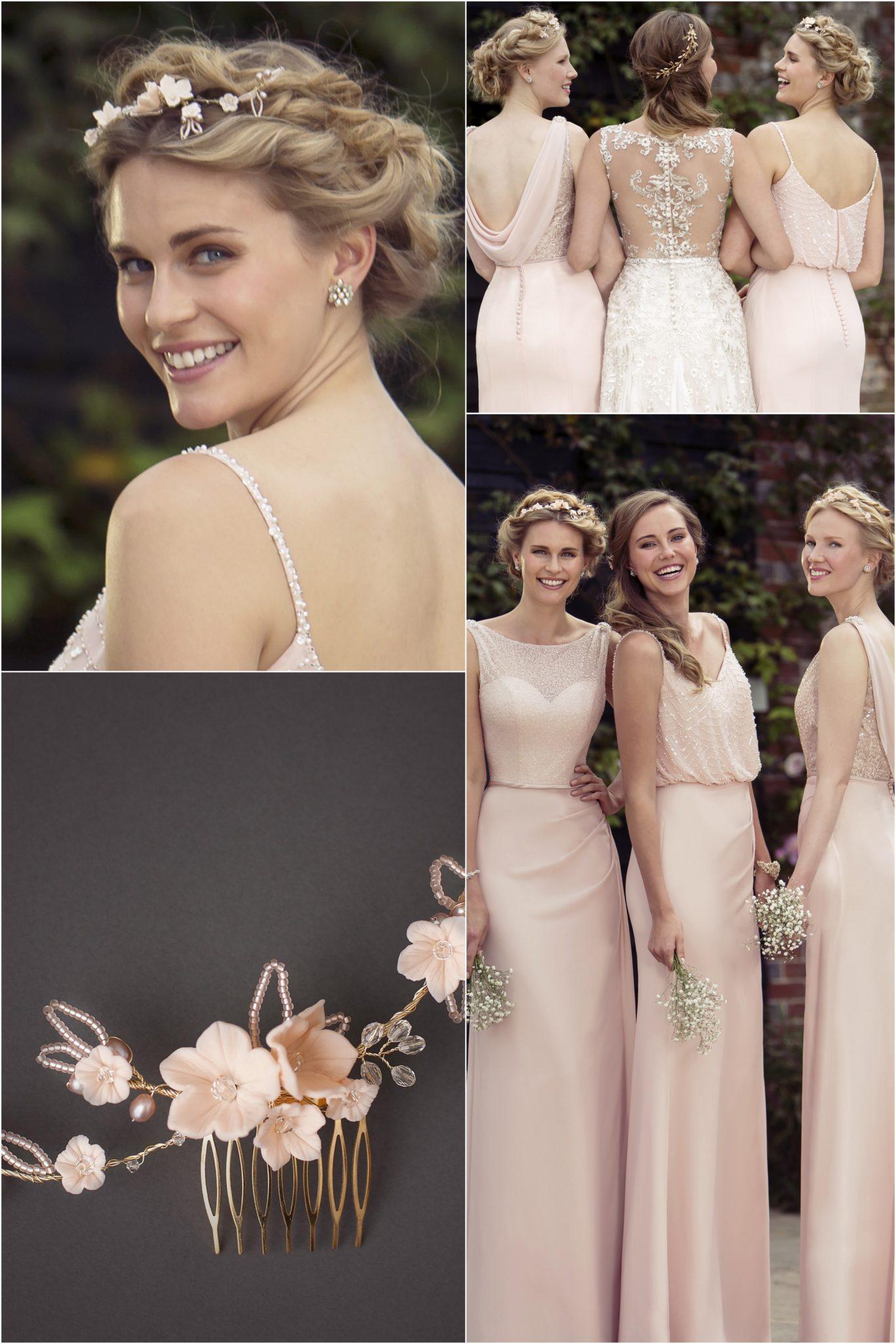 Blush Pink Bridesmaids