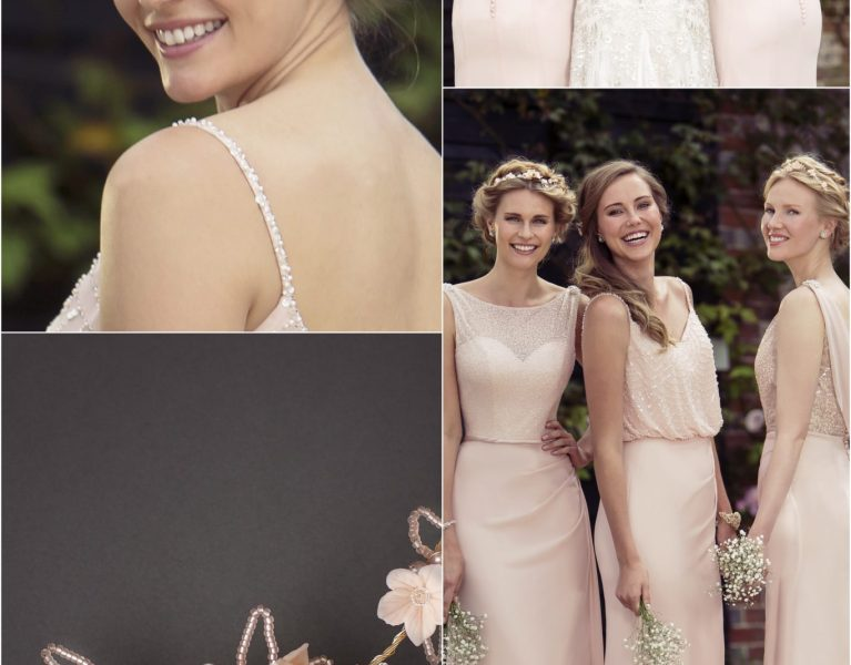 Collaboration with True Bride Wedding and Bridesmaid Dresses – The Perfect Blush Pink Bridesmaids Dresses