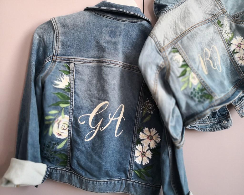 bespoke jacket calligraphy