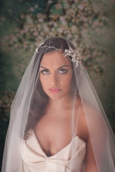 beatriz Bridal Halo wedding headpieces