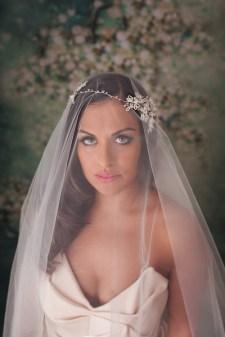 beatriz Bridal Halo wedding headpieces