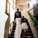 jenny painted bridal leather jacket