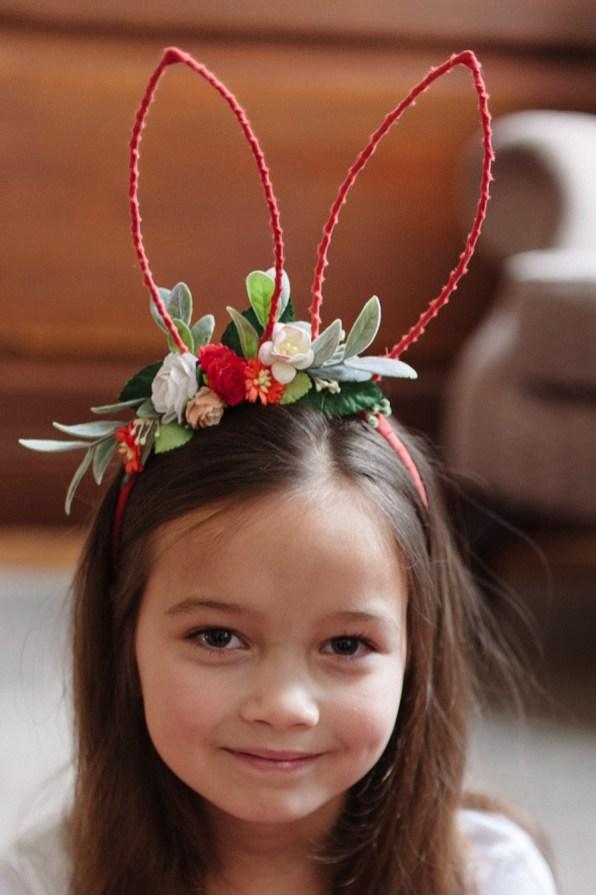 girls rabbit ears