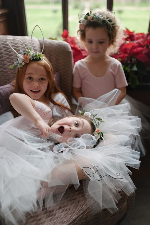 Tulle flower girls Tutus UK