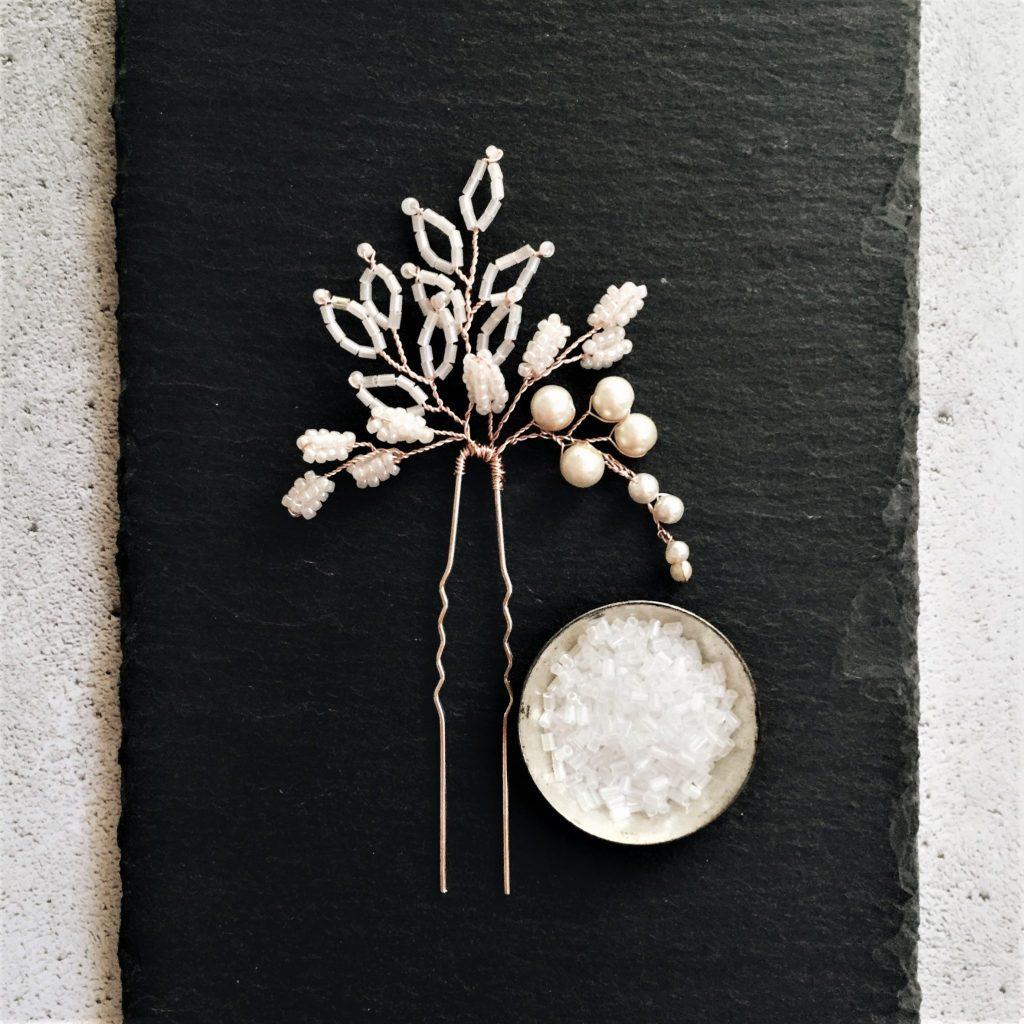 Wedding hair pins Headpiece