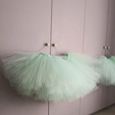 Green Tulle tutu skirt