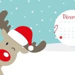 Calendrier de Décembre 2017 (Freebies & Printable)