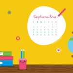 Calendrier de Septembre 2018 (Freebies & Printable)