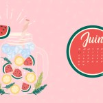 Calendrier de juin 2020 + coloriage à imprimer (Freebies & Printable)
