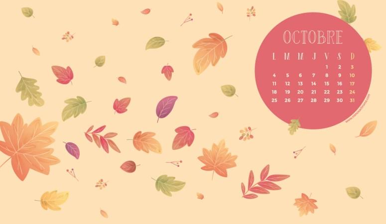 Calendrier de Octobre 2021 (Freebies & Printable)