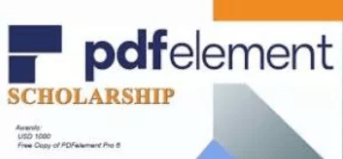 2018 PDFelement Scholarship Contest for Students Worldwide
