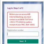 Aib Internet Banking Login- Register for Aib Online Banking  Via Website