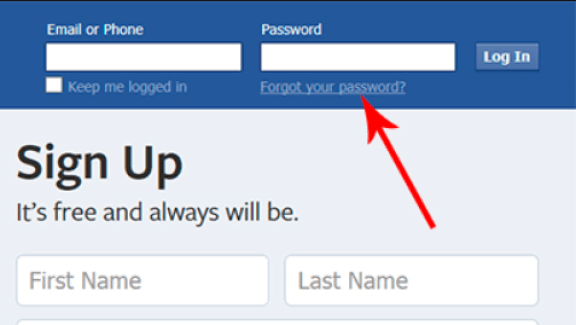 Facebook Account Reset
