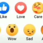 Facebook Emoji Reaction – Express yourself on Facebook Using Care Reaction,New Facebook Emoji