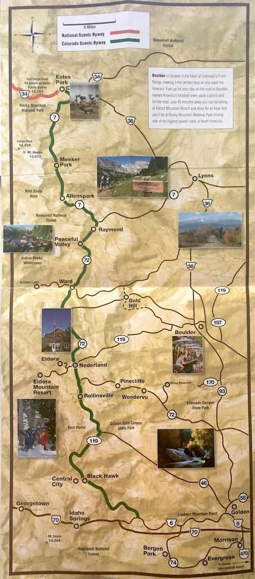 Colorado Karte.A Weekend In Colorado Denver Mount Evans Rocky Mountain