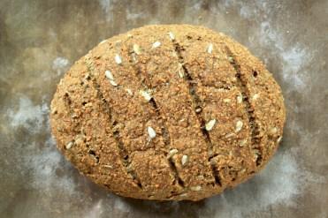 Bread gluten free vegan