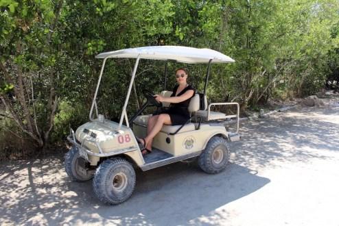Holbox-Golfcart